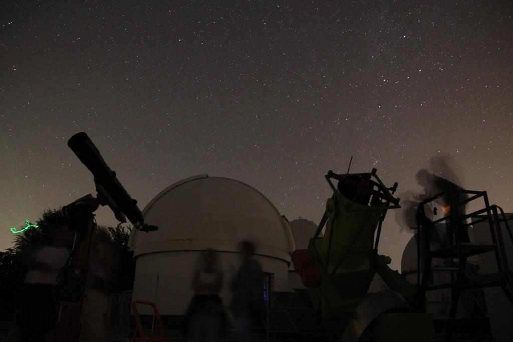 Visita al Observatorio de la Hita en 2014. AstroAfición