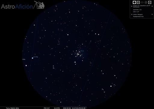 Cúmulo abierto de M41
