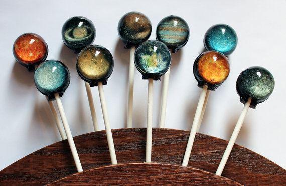 Caramelos del Sistema Solar