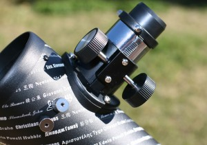 ASTROREVIEW: CELESTRON FIRSTSCOPE Enfocador