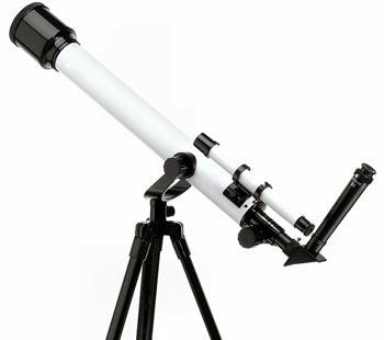 cuántos aumentos tiene un telescopio