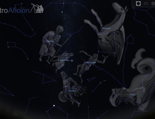 Constelaciones del Mito de Perseo