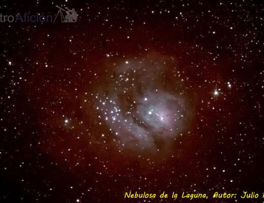 Nebulosa de la Laguna, Autor: Julio Hoya