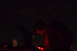 Observación astronómica con ETX70